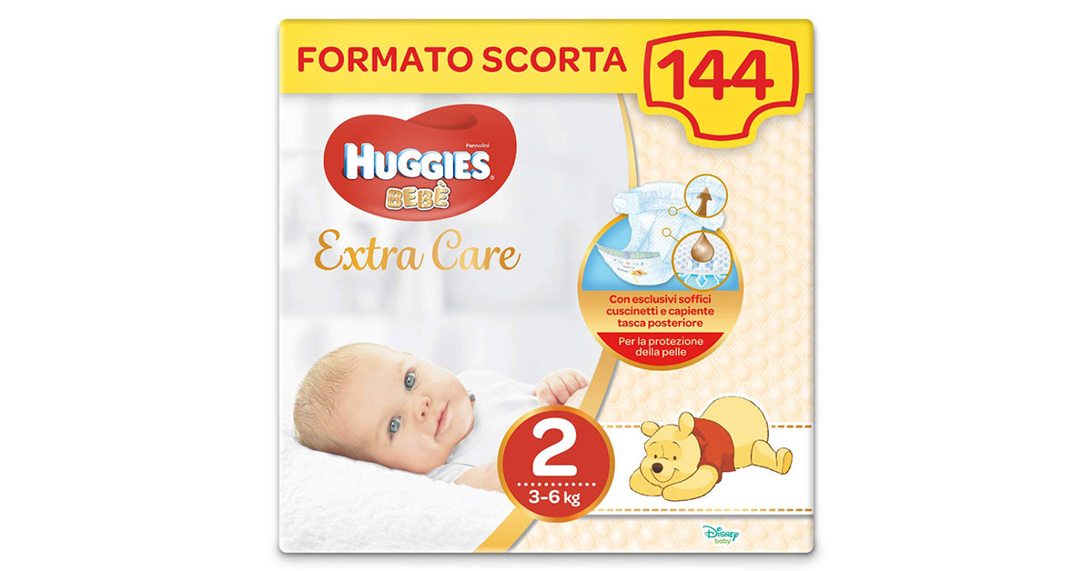 You are currently viewing Pannolini Huggies taglia 2