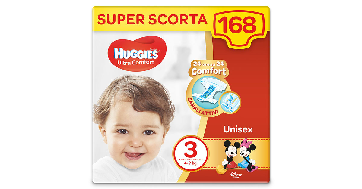 You are currently viewing Pannolini Huggies taglia 3
