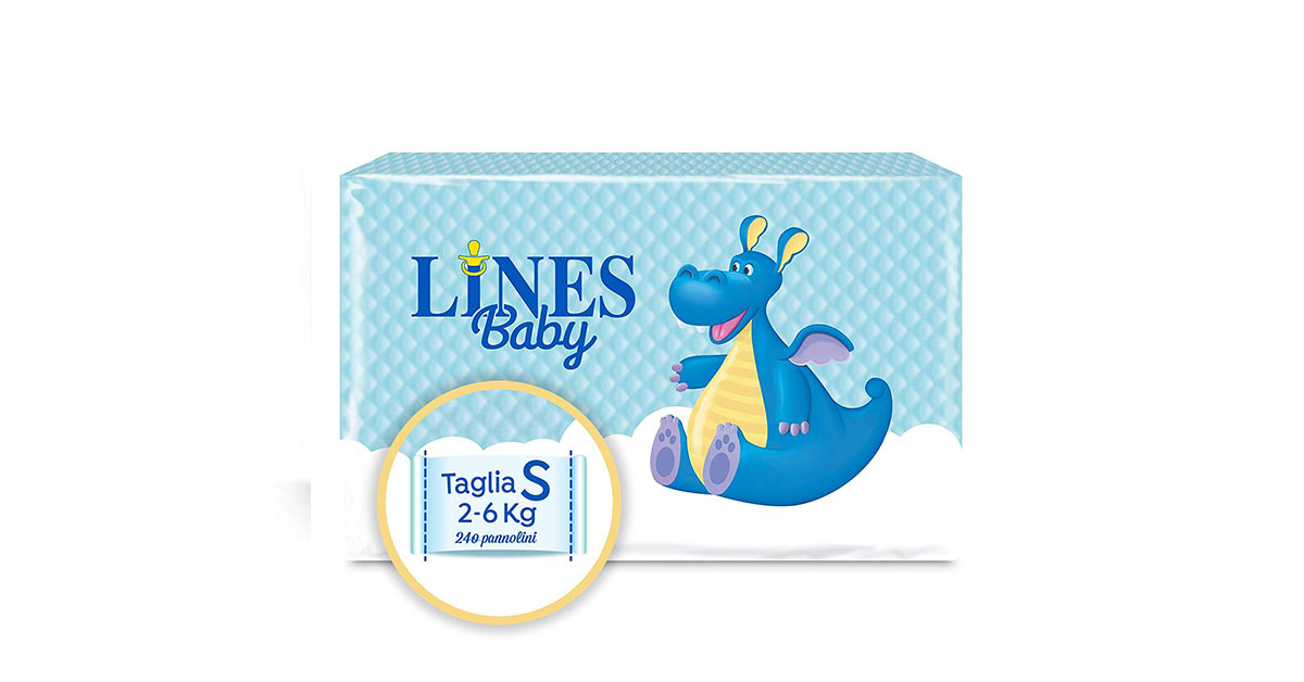 Pannolini Lines Baby