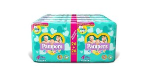 Pannolini Pampers Baby Dry Taglia 4