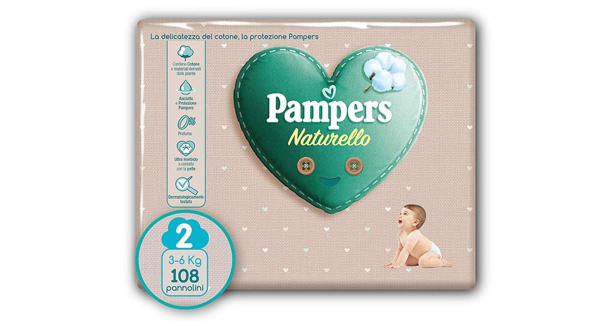 Pannolini Pampers Naturello